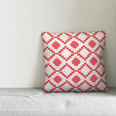 Mccomb Boho Aztec Indoor/Outdoor Throw Pillow by Wrought Studio Great Reviews
