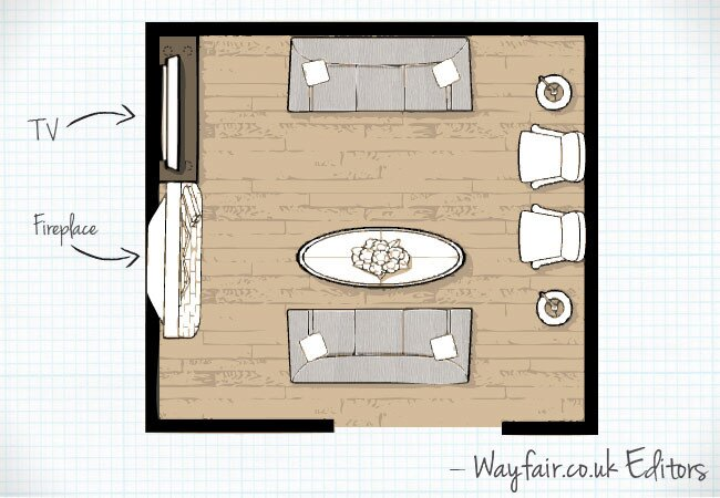 3 of the Best Living Room Layouts | Wayfair.co.uk