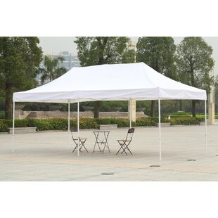 20 Ft. W x 10 Ft. D Metal Pop-Up Party Tent by American Phoenix