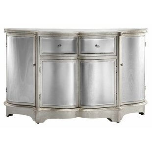 Brinda Curved Mirror Sideboard House of Hampton