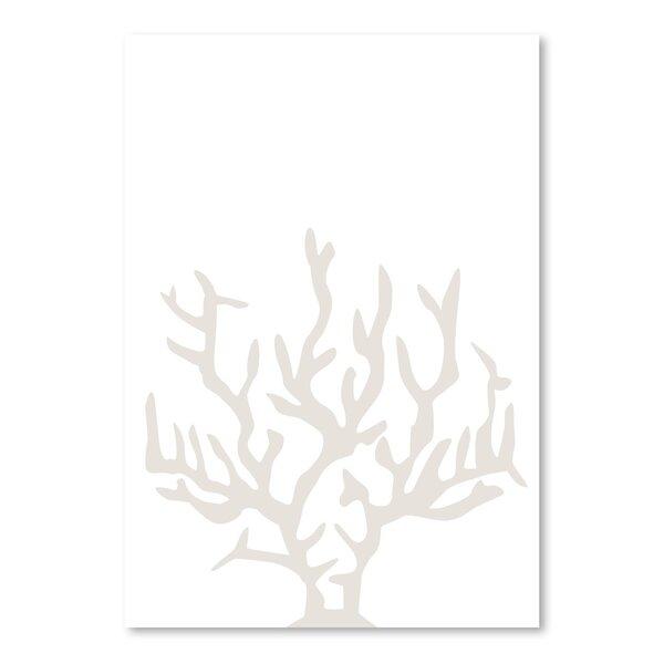 Highland Dunes Beige Coral Poster Gallery Graphic Art Wayfair
