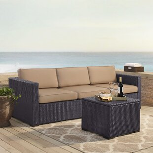 Dinah 3 Piece Sofa Set with Cushions