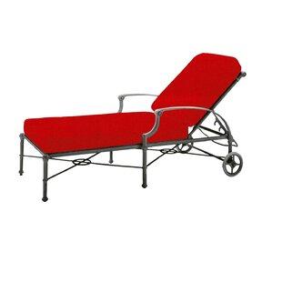 Woodard Delphi Adjustable Chaise Lounge