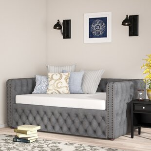 Three Posts Scribner Button Tufted Daybed
