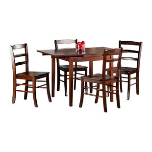 Shaws 5 Piece Extendable Dining Set Alcott Hill