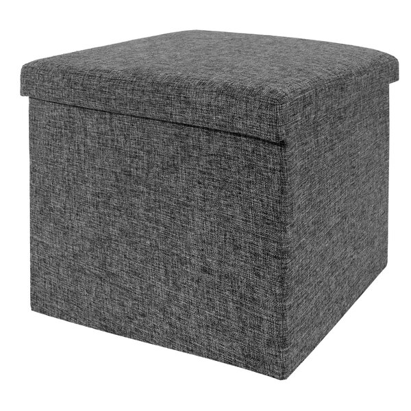Zipcode Design Zosia Foldable Storage Foot Stool Cube Ottoman u0026 Reviews | Wayfair  sc 1 st  Wayfair & Zipcode Design Zosia Foldable Storage Foot Stool Cube Ottoman ... islam-shia.org