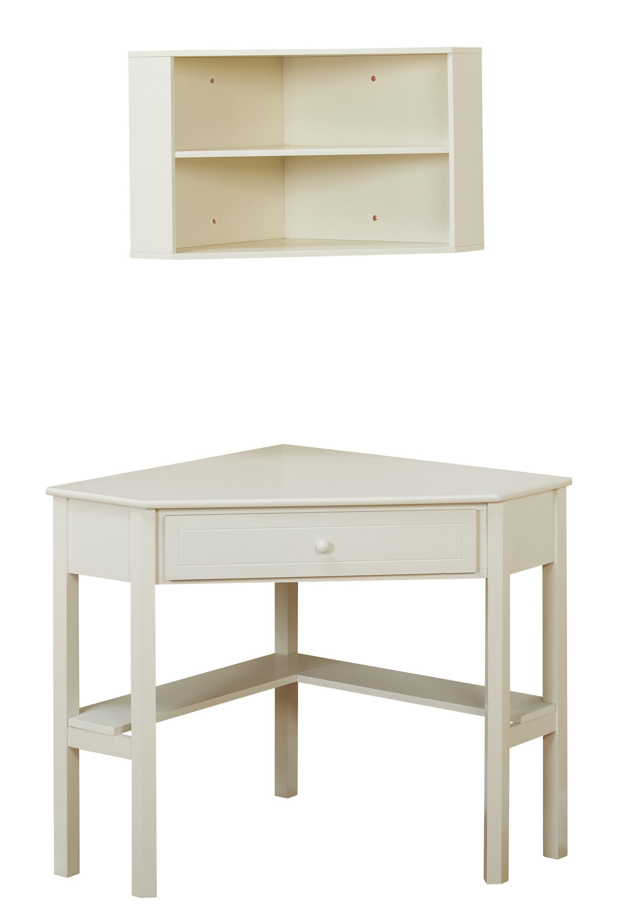 Image of: Corner White Desks You Ll Love In 2020 Wayfair