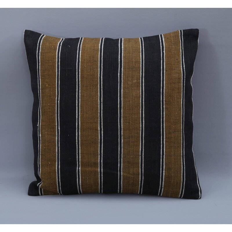 Rosalind Wheeler Grigor Square Wool Pillow Cover And Insert Wayfair