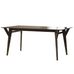 Greenstein Retro Mid Century Solid Wood Dining Table