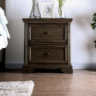 Box 2 Drawer Nightstand by Darby Home Co