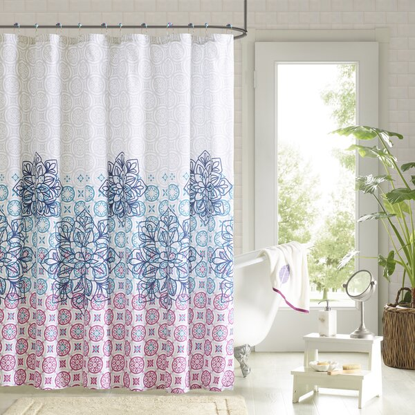 Zipcode Design Alaysia 14 Piece Shower Curtain Set U0026 Reviews | Wayfair