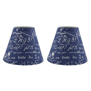 Hardback 6 Linen Empire Lamp Shade (Set of 2)