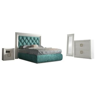 Kolar Panel 6 Piece Bedroom Set by Everly Quinn 2019 Sale