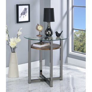 Hoffmann End Table by Wrought Studio