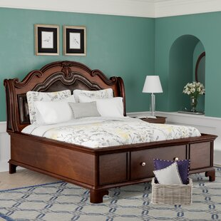 Alanya Upholstered Storage Platform Bed