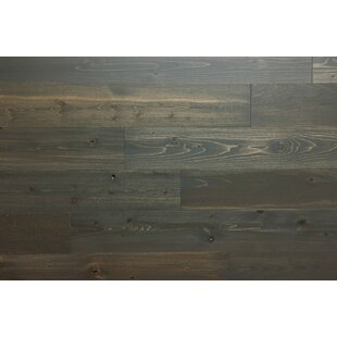4 Solid Wood Wall Paneling In Dark Gray