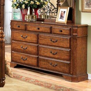 Three Posts Banstead 9 Drawer Dresser