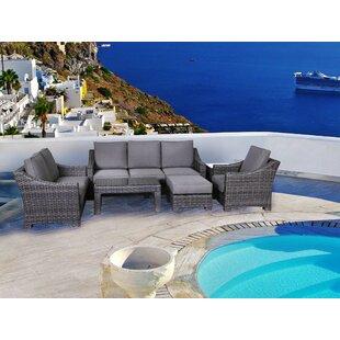 Brayden Studio Donley 4 Piece Sofa Set wi..
