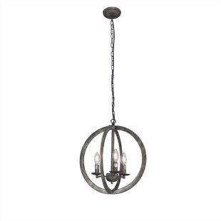 Woodinville 3-Light Globe Chandelier by Gracie Oaks