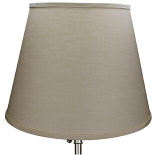 17 Linen Empire Lamp Shade