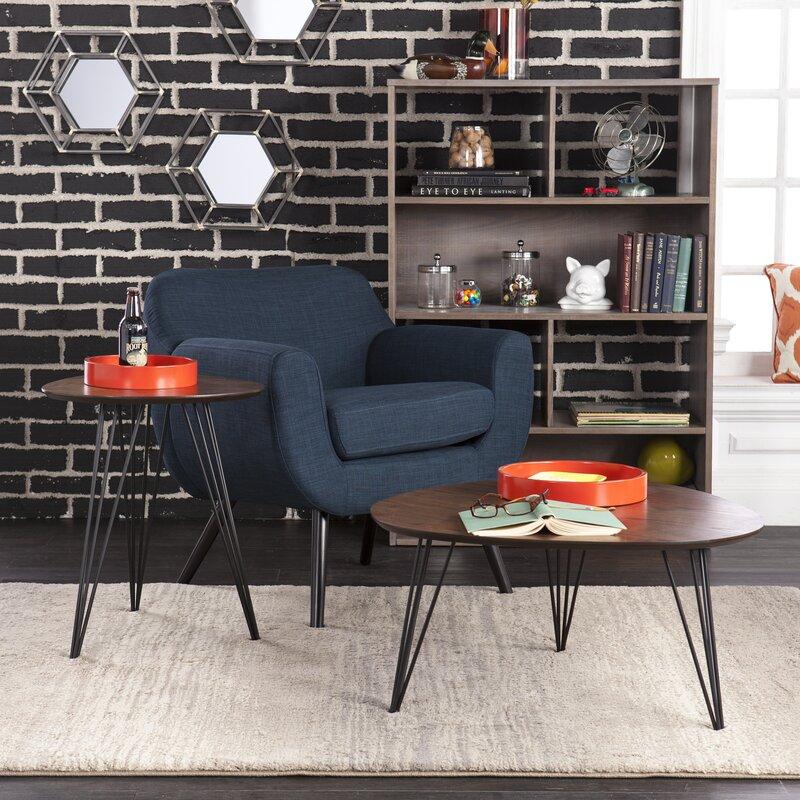 Wrought Studio Alena 2 Piece Coffee Table Set Reviews Wayfair