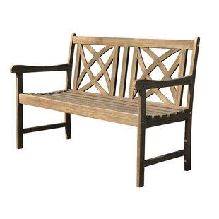 Monterry Wood Garden Bench