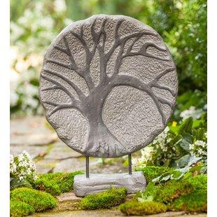 Circular Tree Of Life Indoor/Outdoor Statue by Wind & Weather