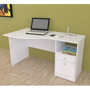 Santoro Curved Desk & Curved Desks | Wayfair