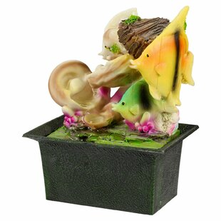 Deltha Battery Fish Ceramic Fountain By Sol 72 Outdoor