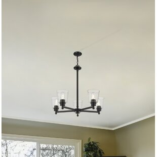 Breakwater Bay Leboeuf 5-Light Shaded Chandelier
