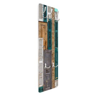 The Doors Wall Mounted Coat Rack By Symple Stuff