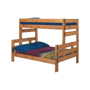 Bartlow Stackable Twin Over Full Bunk Bed