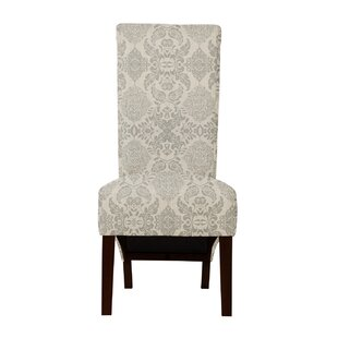 Langley Street Ramon Bentley Fabric Parsons Chair (Set of 2)
