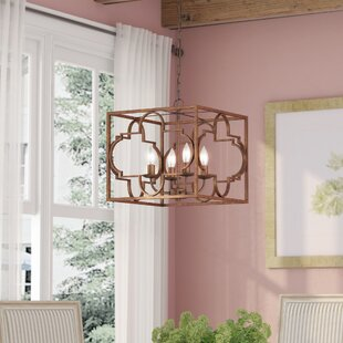 Twin Falls 4-Light Square/Rectangle Chandelier