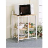 Parchette Kitchen Cart with Manufactured Wood Top by Latitude Run