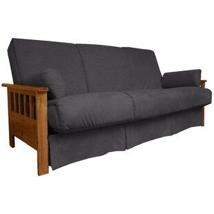 Gordon Perfect Sit N Sleep Futon and Mattress Red Barrel Studio