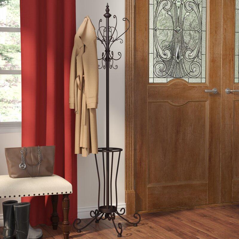 Laurel Foundry Modern Farmhouse Laflamme Coat Rack/Hall Tree Coat Rack