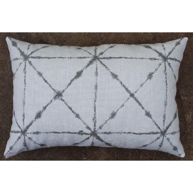 The Fabric Shoppe Anya Sunbrella Indoor Outdoor Geometric Lumbar Pillow Perigold