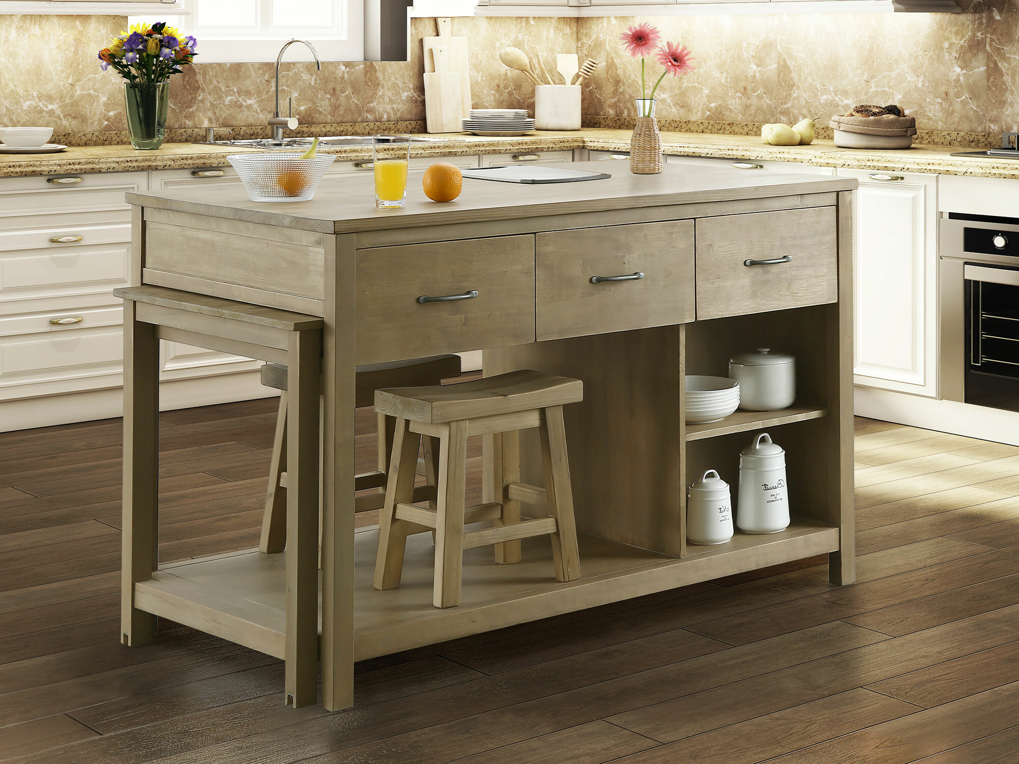Garrett Kitchen Island Reviews Joss Main
