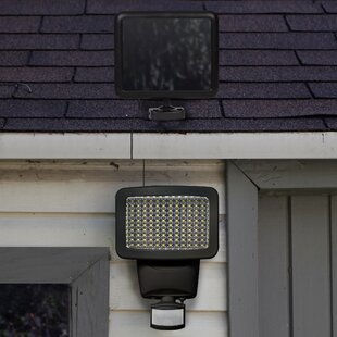 Solar Power Outdoor Security Wall Pack with Motion Sensor