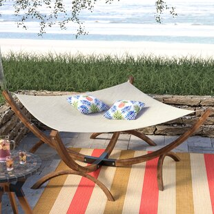 Beachcrest Home Arica Olefin Hammock with Stand