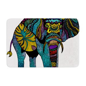 Pom Graphic Design Elephant of Namibia Color Memory Foam Bath Rug