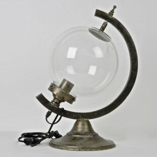 Where buy  Dille Metal and Glass Globe 19 Table Lamp By 17 Stories