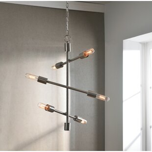 Langley Street Herzog 6-Light Sputnik Chandelier