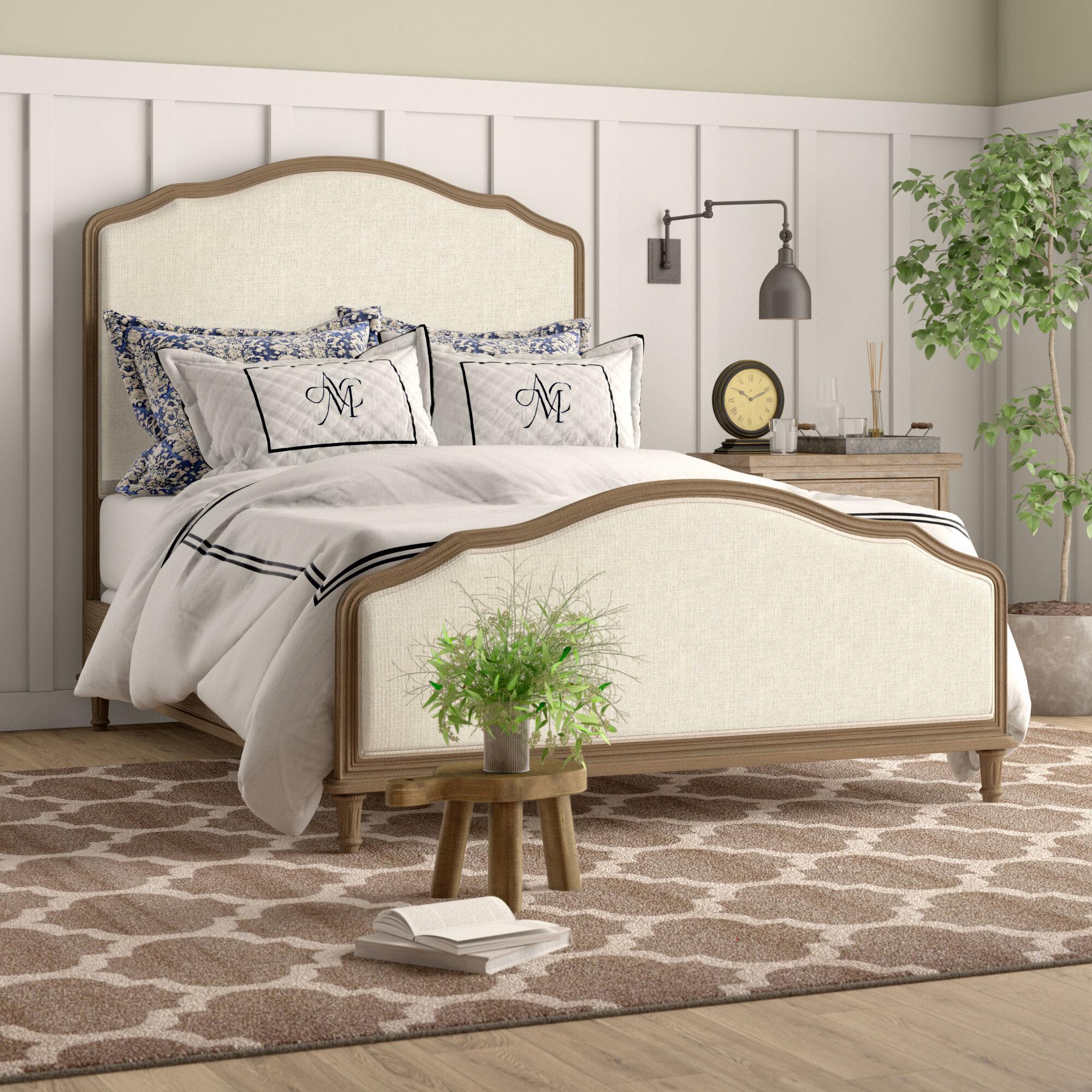 Culbane Upholstered Standard Bed Reviews Birch Lane