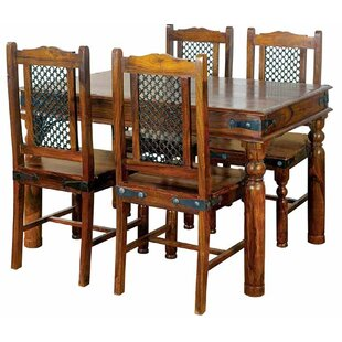 Lola Dining Set With 4 Chairs By Alpen Home