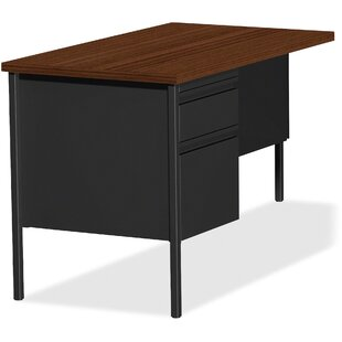 Fortress Left Pedestal Desk