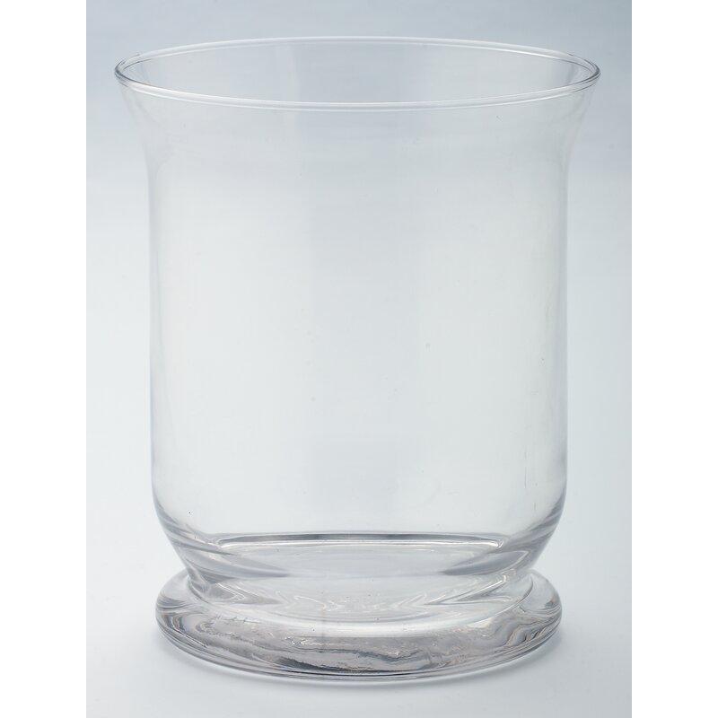 Andover Mills Traditional Glass Hurricane Vase Reviews Wayfair