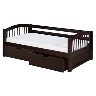 Reviews Oakwood Bed with Trundle by Harriet Bee Reviews (2019) & Buyer's Guide