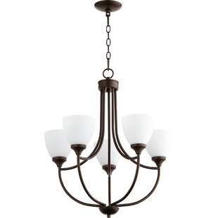 Rhea 5-Light Shaded Chandelier by Andover Mills